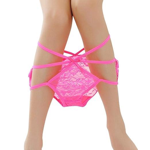 49f5cfeb607b TWGONE Women Briefs Lace Panties Thongs G-String Lingerie Erotic Underwear(Free  Size,