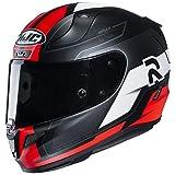 HJC Helmets RPHA 11 Pro Helmet - Fesk (X-Large) (Black/RED)
