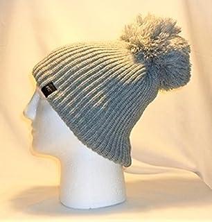 6c4797ffbe5 Luxury Fleece Lined Bobble Hat Beanie   Pom Pom Warm Winter Mens Womens  Boys Girls…