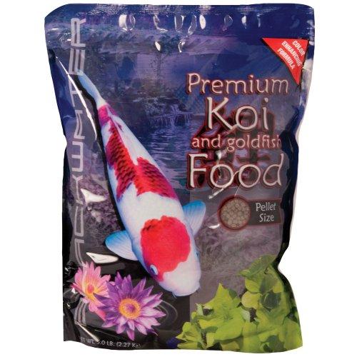 Blackwater Color Enhancing Fish Food Large 5 lb. For Sale