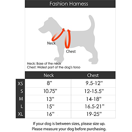 gooby fashion vest harness for broad chested dogs