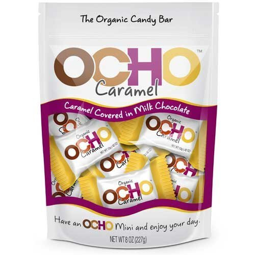 OCHO Mini Caramel Pouch 8oz (Ocho Chocolate)