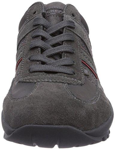 By 36ht001 Sports Dockers De Homme asphalt 207220 Noir Chaussures Gerli Extérieurs PFqAAw7gx