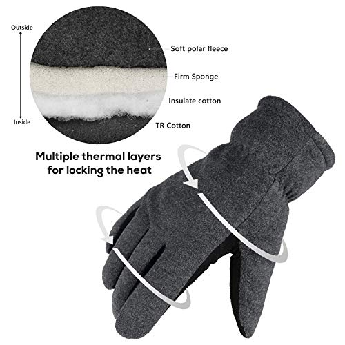 Buy thin gloves for extreme cold
