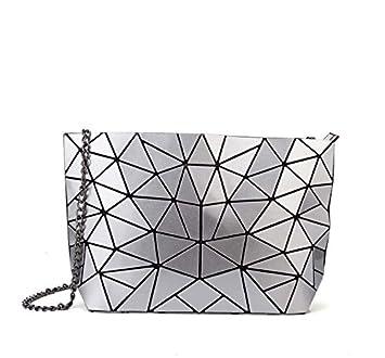 Meoaeo Geometrische Kette Handtasche Xiekua Paket Mode Leder Tasche Schulter