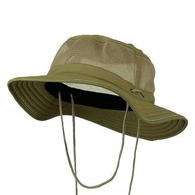 ddd240db760 Big Size Talson UV Mesh Bucket Hat - Khaki XL-2XL at Amazon Men s ...