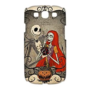 Funny Picture Jack Skellington Samsung Galaxy S3 I9300 Hard Cover Case Of The Nightmare Before Christmas