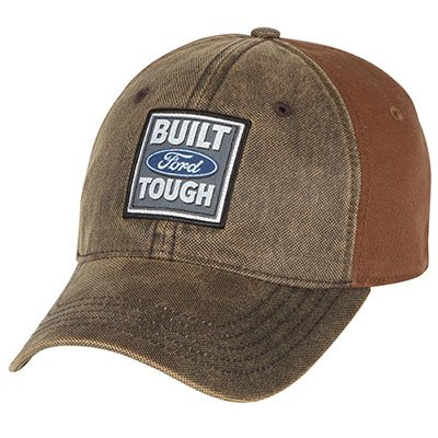 Mac Adjustable Hat (Built Ford Tough Waxy Front)