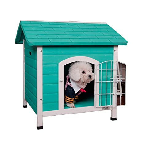 Hh001 Pet House Kennel Cat House casa de Madera Maciza Dog House ...
