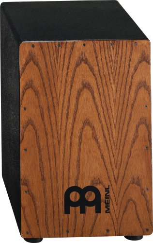 Meinl Percussion HCAJ1AWA Headliner Series Stained American White Ash String Cajon, Medium Size (VIDEO)