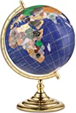 "Replogle Lapis Jewel 13"" Gemstone Globe - 38501"