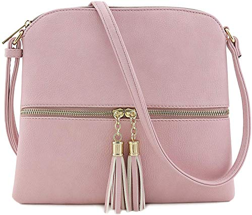 Janin Handbag Women's Crossbody Bag with Tassel