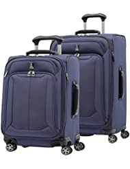 Travelpro Skypro Lite 2-Piece Expandable 8-Wheel Luggage Spinner Set: 25 and 21