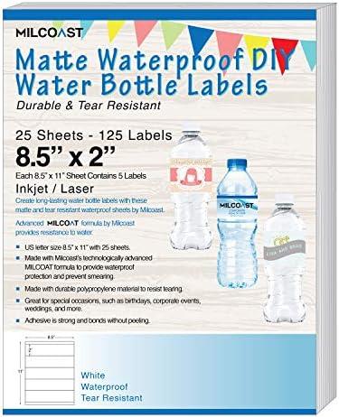 Milcoast Waterproof Resistant Bottle Printers product image