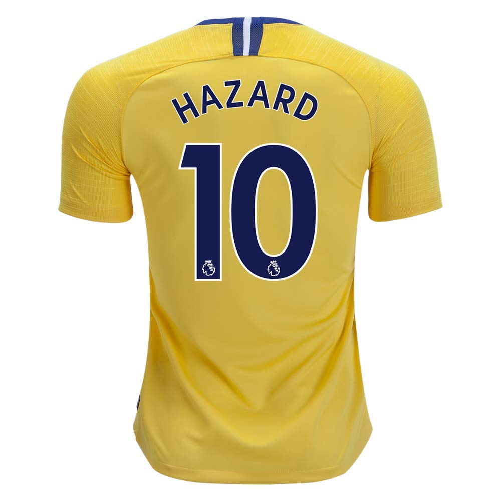 cheaper 18381 483c6 North-V Hazard Chelsea 2018-2019 Away Jersey Men's Color Yellow Size L