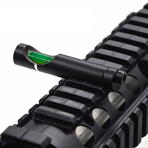 Taskar Zielfernrohr für Gewehre, mit integrierter Wasserwaage, 10 cm / 11 mm Prismenschiene