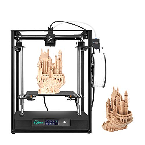 Creativity-CoreXY-Structure-Remote-Range-Elf-3D-Printer-High-Precision-Large-Size-Mainboard-Build-Plate-Double-Z-axis-Support-BL-Touch-auto-Leveling