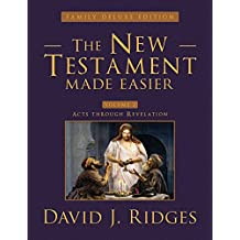 The New Testament Made Easier Volume 2 (Family Deluxe Edition) (The New Testament Made Easier (Family Deluxe Edition))
