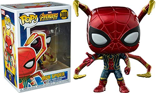 Funko Pop: Avengers Infinity War - Iron Spider with Legs Collectible Figure, Multicolor
