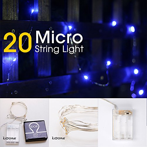 Led 100 Micro Icicle Light String in Florida - 3
