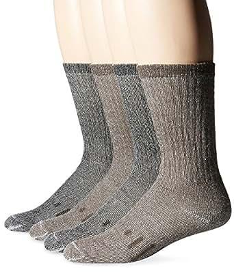 Kirkland Signature Outdoor Trail Sock Merino Wool Blend (Large - Pack of 4)