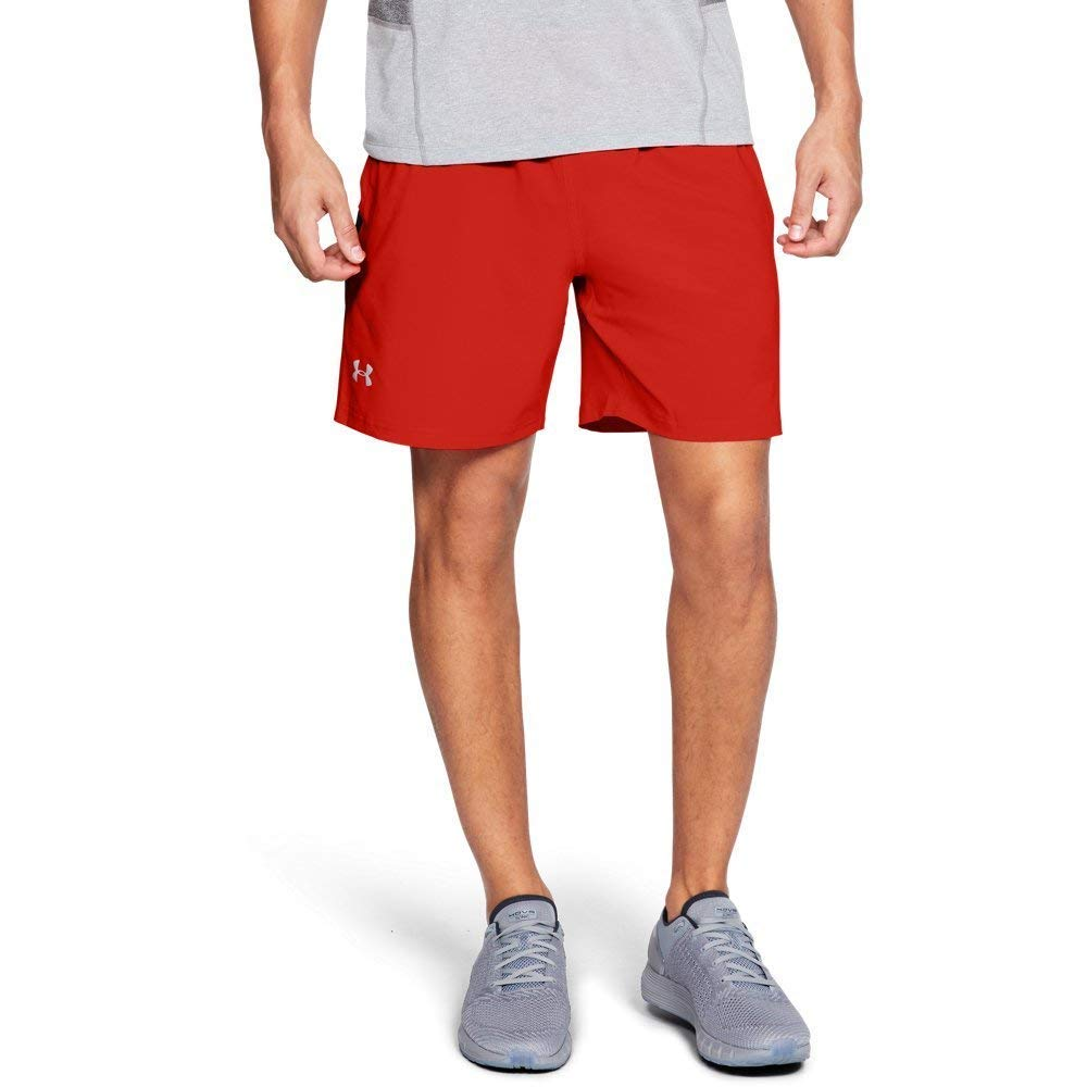 Under Armour Men's Launch SW 7'' Shorts, Radio Red