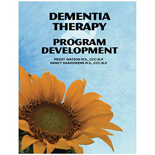 AliMed 081621267 Dementia Therapy & Program Development by AliMed