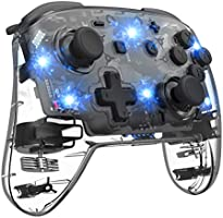 Wireless Switch Controller for Switch, Remote Pro Controller for Switch, Adjustable Turbo Vibration Motion Gyro...