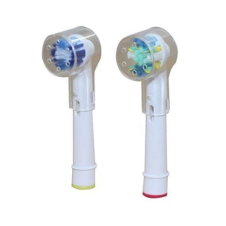 Steellwingsf - Funda protectora para cepillo de dientes eléctrico, plástico, Transparente, talla única