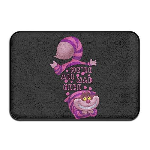 UFBDJF20 Alice In Wonderland Cheshire Cat We Non-slip Slip Rug