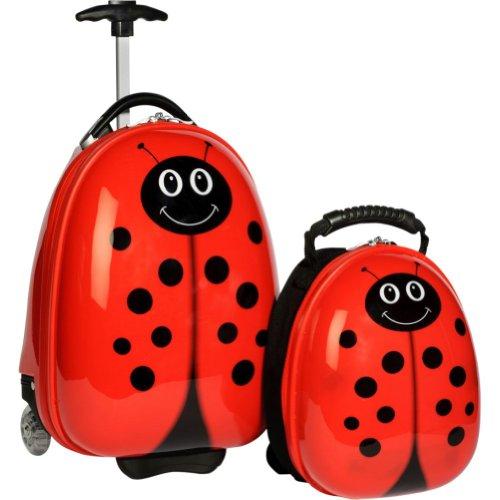 Travel Buddies Luggage Set, Lola Ladybug, Bags Central