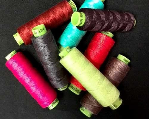 WonderFil Specialty Threads Sue Spargo Eleganza 2-ply #8 Perle Cotton Solids Campfire #23