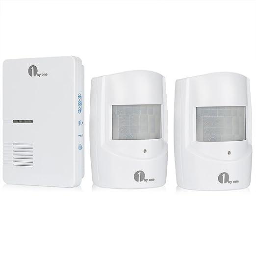 42 opinioni per 1byone Allarme Wireless senza Fili per la Sicurezza del Vialetto, Campanello