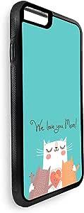ديكالاك غطاء حماية للاجهزة  ايفون 8 بلس بتصميم نحبك امي