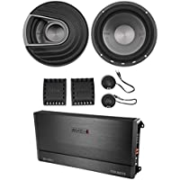 "Polk Audio MM6502 6.5"" 750 Watt Component Speakers+MB Quart 2-Channel Amplifier"
