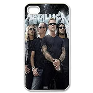 Rock band Metallica Hard Plastic phone Case Cover For Iphone 4 4S case cover ART145886