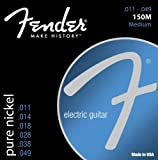 Fender Accessories 073-0150-408 Pure Nickel Electric Guitar Strings, Medium, Outdoor Stuffs