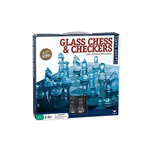 Pavilion Glass Chess Set