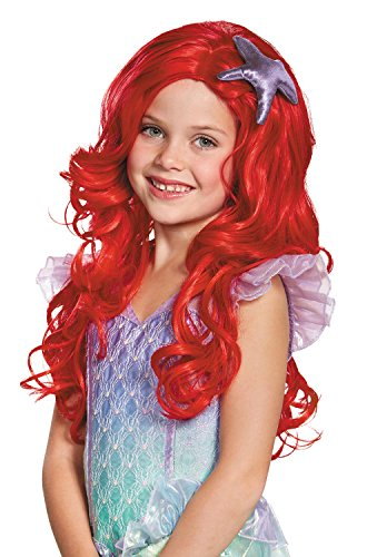 Disguise Child Ariel Ultra Prestige Wig
