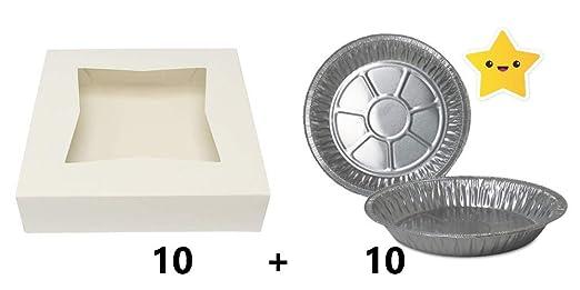Cajas de panadería con ventana – Cajas para pasteles – Cajas para ...