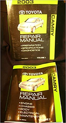 camry 2003 repair manual
