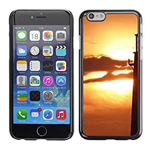 LECELL -- Funda protectora / Cubierta / Piel For Apple iPhone 6 -- Sunset Beautiful Nature 74 --