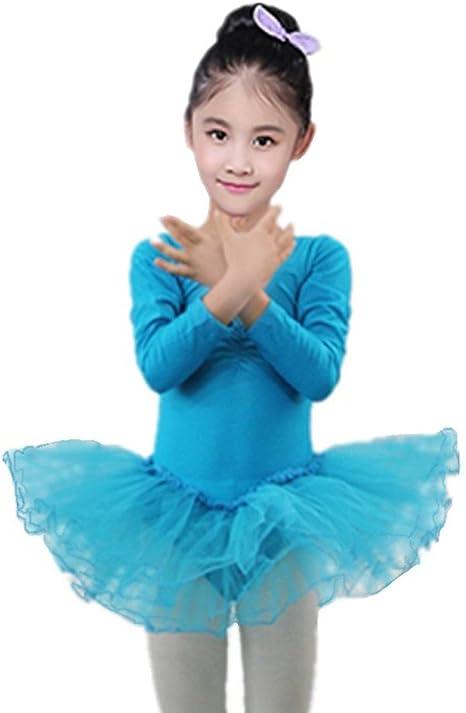 Xmiral Vestido para Baile de Ballet Camiseta de Niñas Bebes Traje ...