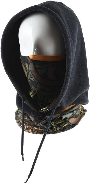 Multifuncional Balaclava babero bufanda tocados deportes de campana extractora de máscara de esquí para ciclismo de invierno cálido, 4 escala modelo Fantasie Nacht: Amazon.es: Deportes y aire libre