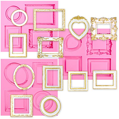 frame chocolate candy mold - 5
