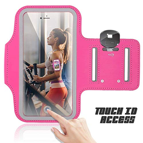 Sports Running Armband Compatible BQ Mobile BQ-4072 Strike Mini 4.0
