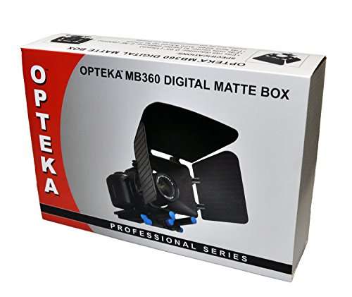 Opteka MB360 Digital Matte Box For Video and DSLR Camera Rigs and Cages