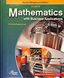 img - for Glencoe Mathematics With Business Applications: Teacher Wraparound Edition book / textbook / text book