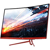 CrossLCD 320F 144 ECO 32 FHD (1920x1080) Curved (1800R) VA Gaming Monitor, 144Hz/1ms Flicker Free&Low Blue Light, AMD FreeSync, Game mode, Cross Hair (HDMI, DP) Perfect Pixel