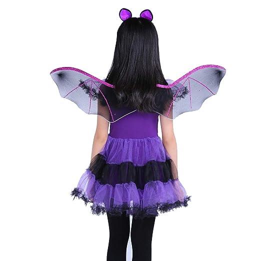 Amosfun Traje de Disfraz de murciélago Traje de murciélago de ...